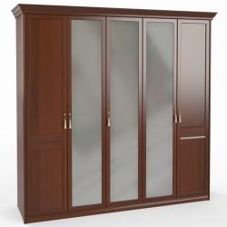 Шкаф 5 дв. (2+1+2) с зерк.